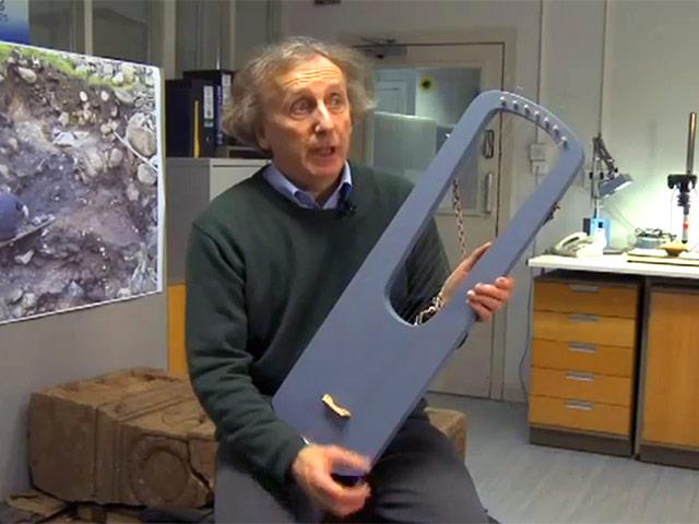 ашли струнный инструмент, созданный 2300 лет назад