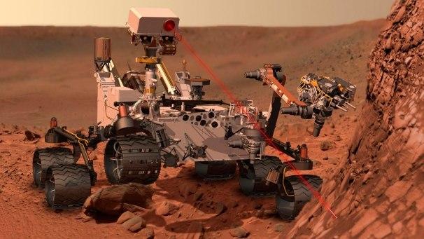 Curiosity ищет жизнь на Марсе