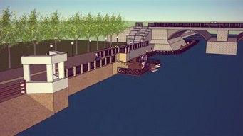 Проект новой набережной и прогулки на водных катерах