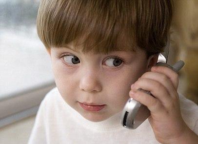 Дети и мобильные телефоны