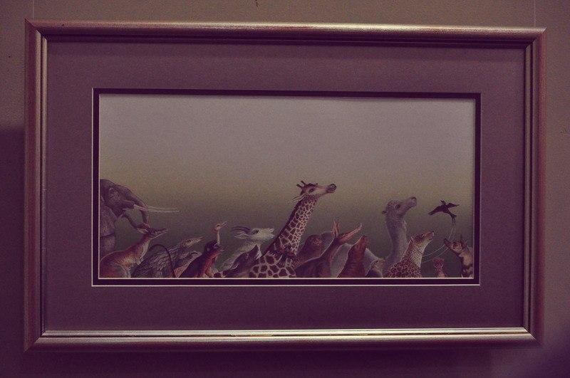Валерия Соколова представила в художественной галерее «Зеленый диван» экспозицию «Возвращение домой»
