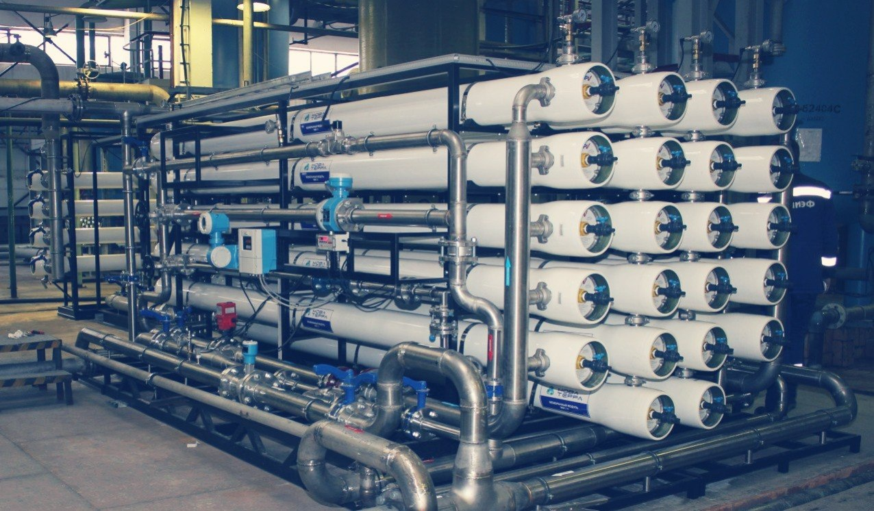 Промышленные механические фильтры для воды: назначение и виды