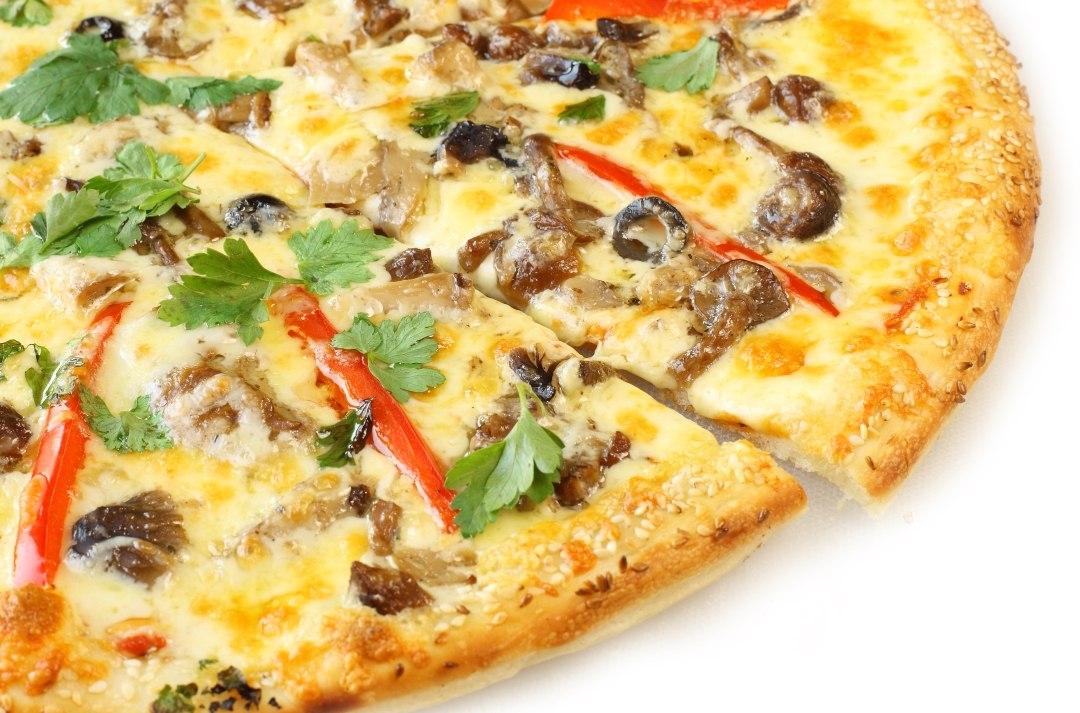 Пицца с маслятами рецепт с фото