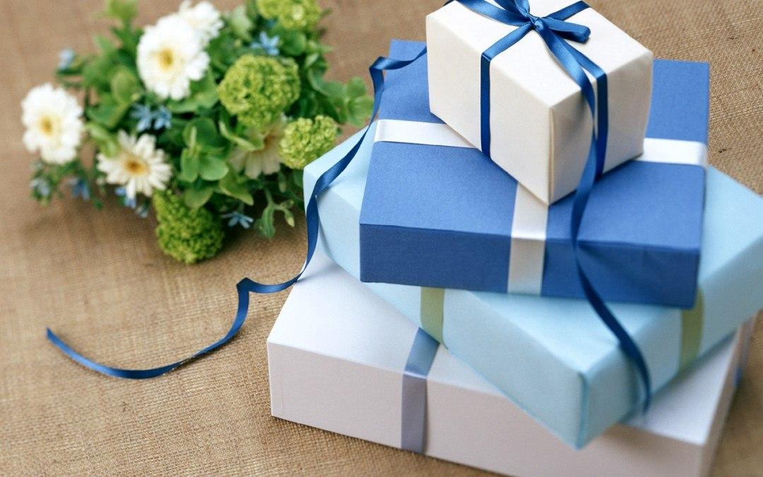 Выбираем подарок на юбилей 52