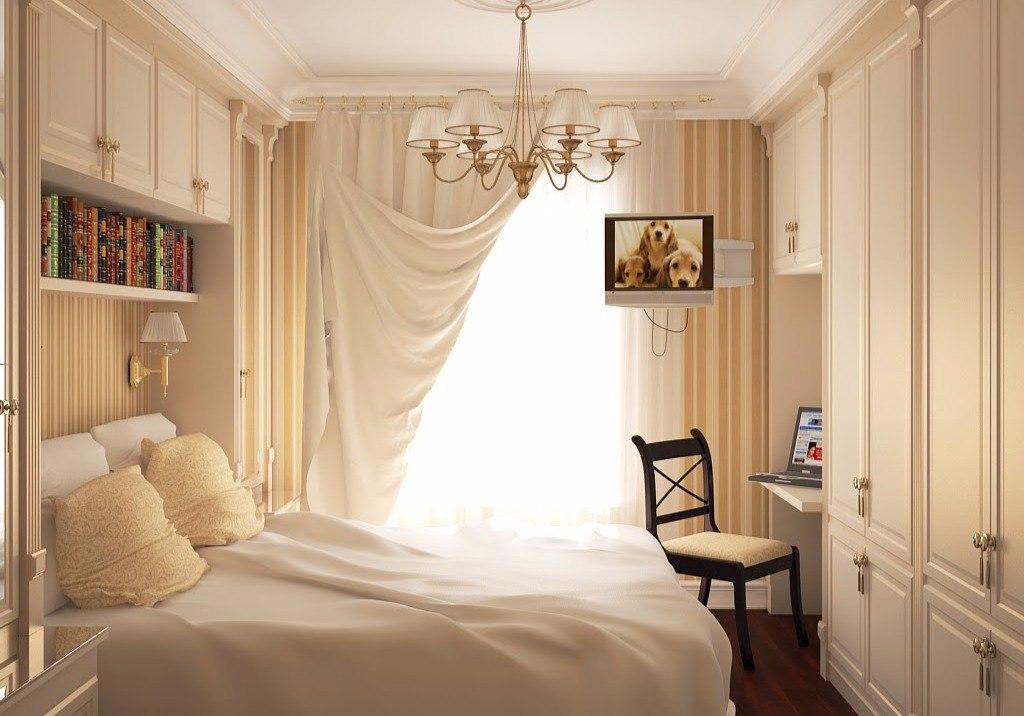Дизайн спальни 12 кв.м фото хрущевка