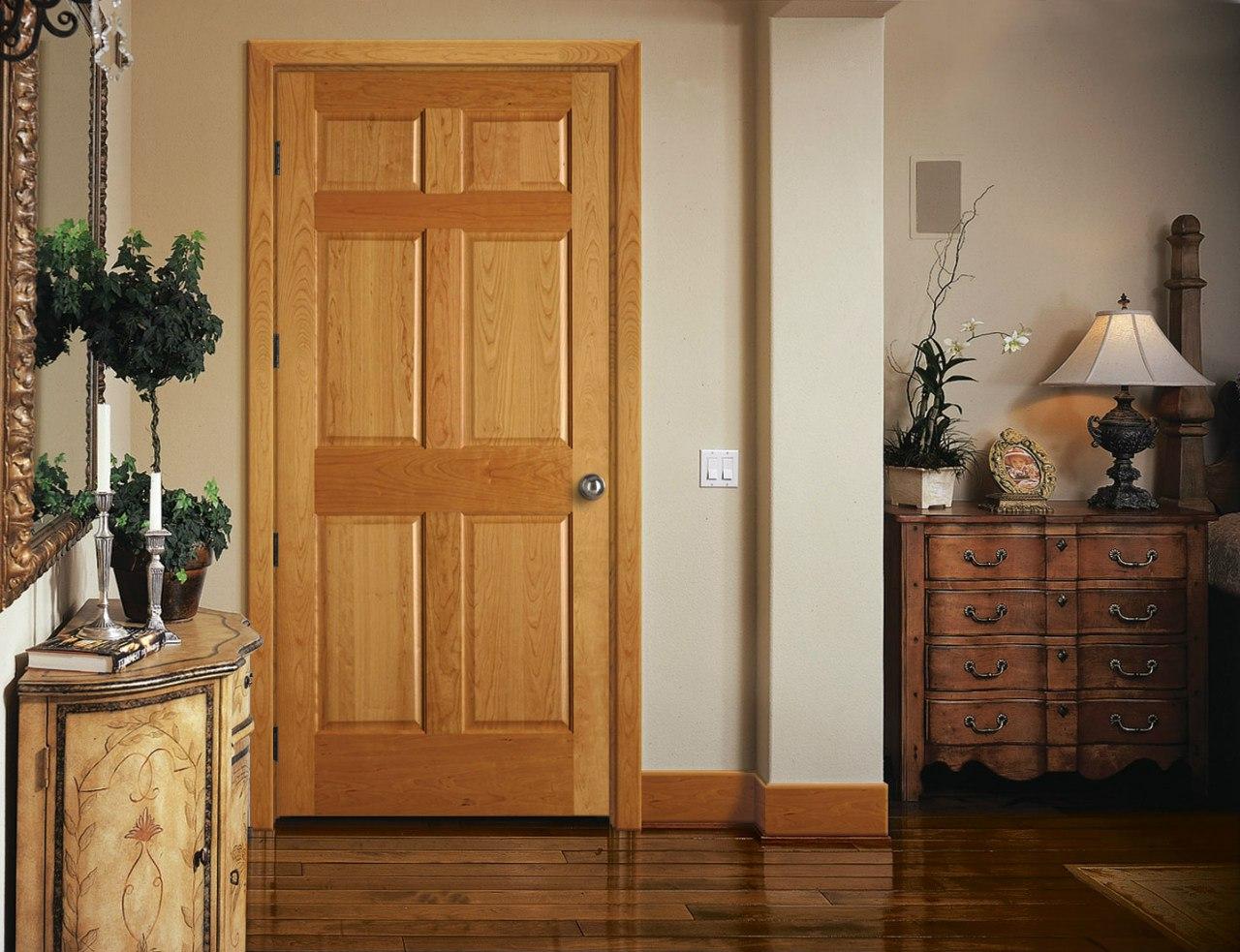 Изготовление дверей из массива дерева от производителя в
