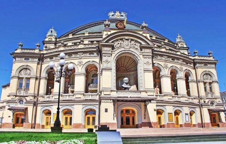 театр оперы и балета в Кивеве