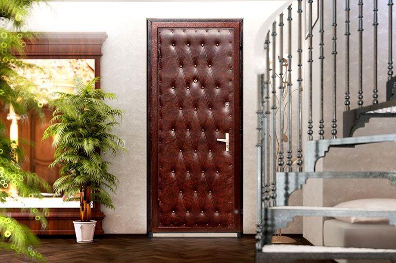 оббивка входных дверей