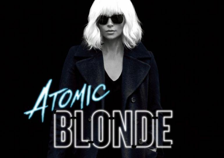 Взрывная блондинка. Атомная блондинка постер
