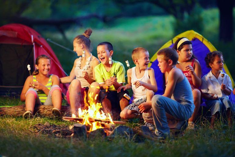 Дети пикник