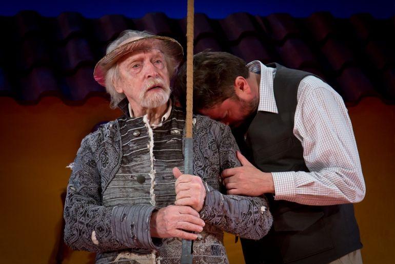 В Молодежном театре встретились два Дон Кихота