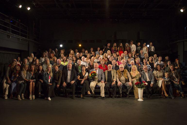 Сбор труппы в московском «Театре Луны»