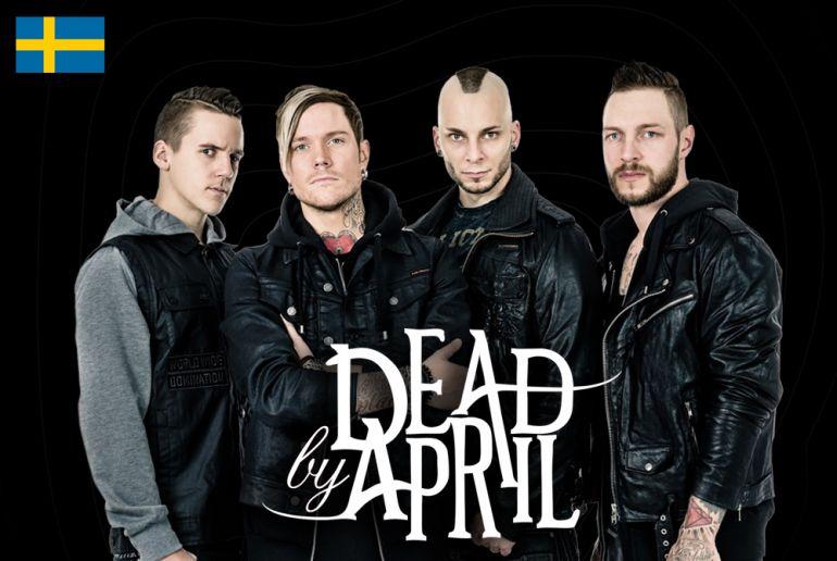 Шведская метал-рок группа «Dead by April» на фестивале «Файне Місто» 2016