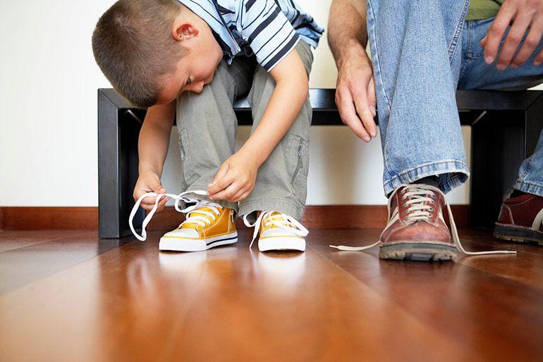 выбираем обувь с ребёнком