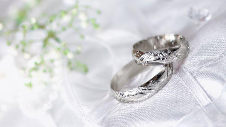 серебряная свадьба. Кольца