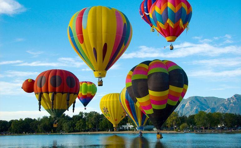 Фестиваль воздушных шаров в Альбукерке 2014