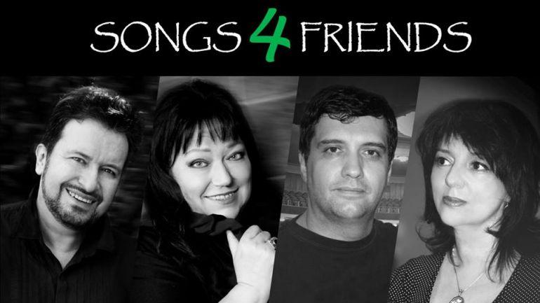 Концерт Songs 4 Friends. Афиша Нетания 2019