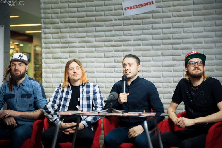 Автограф-сессия с популярной группой «Антитела» в Днепре