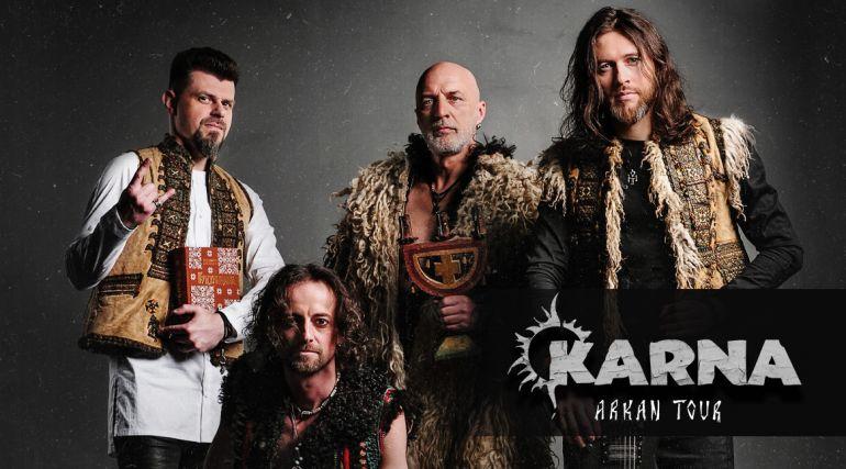 Гурт KARNA. Тур 2019 - 2020. Альбом ARKAN