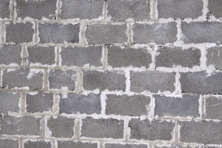 Штукатурка шлакоблочных стен