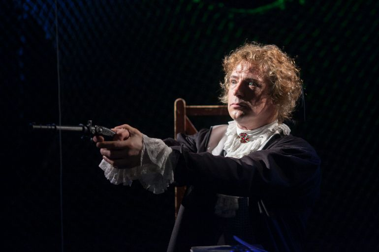 Актер Театра Дождей Александр Маков отметит юбилей на сцене, в Доме, который построил Свифт