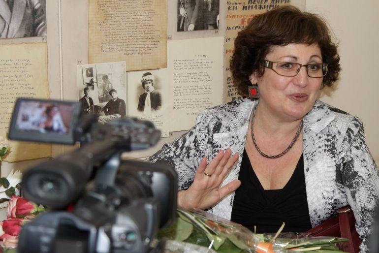 Интервью с Еленой Минкиной–Тайчер