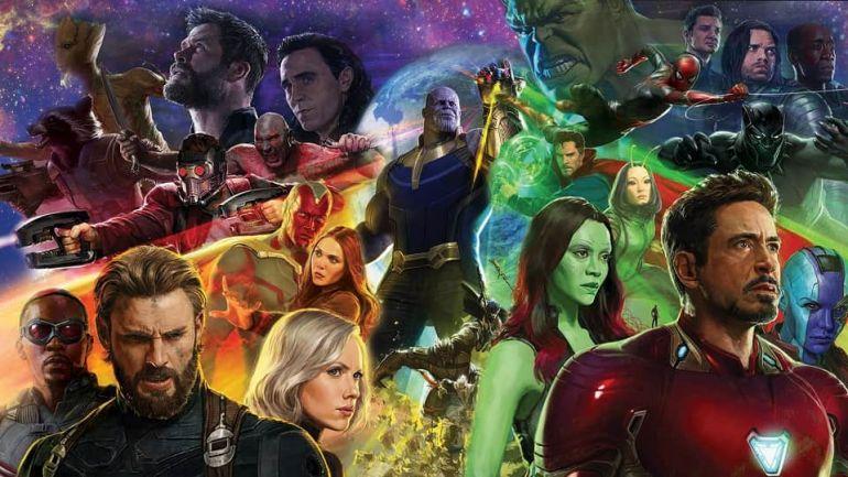 Мстители: Война бесконечности. Постер