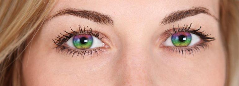 контактные линзы цветные