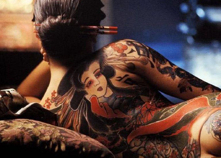 японское тату