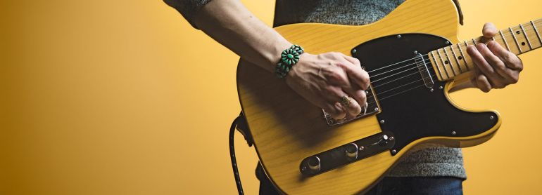 Физика игры на гитаре