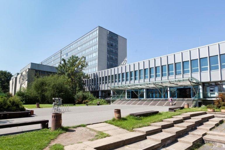 Чешский технический университет. Прага