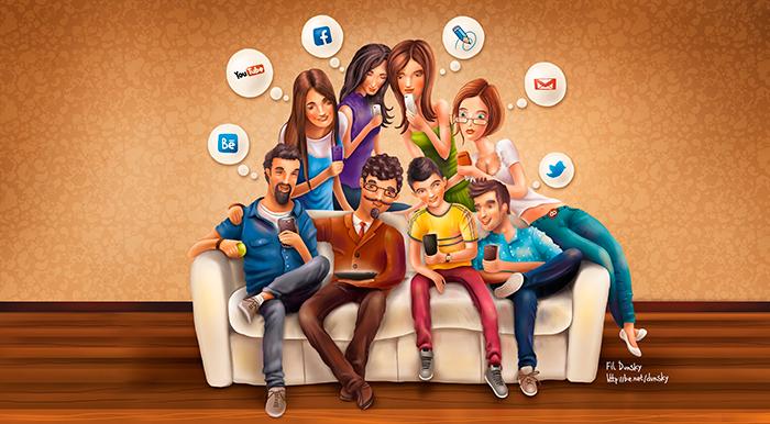Социальные сети - SEO-Вики