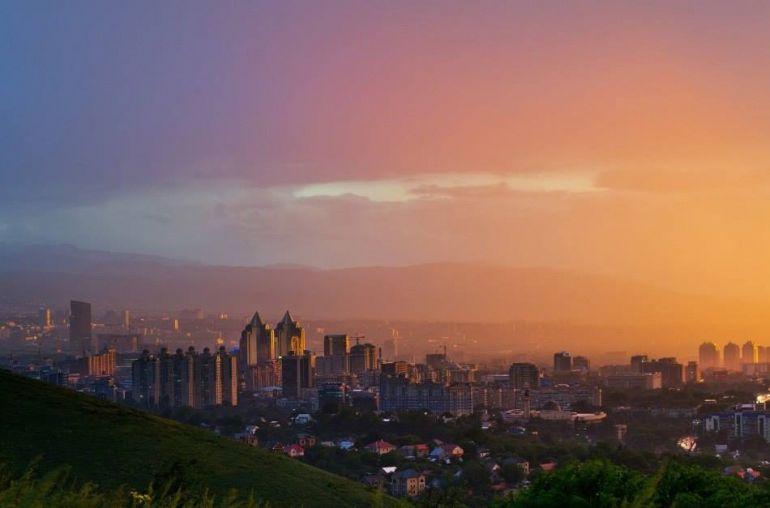 прекрасный город Алматы