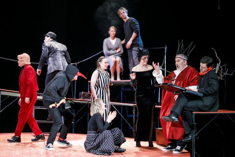 Последняя неделя сезона. Театр Драма Номер Три