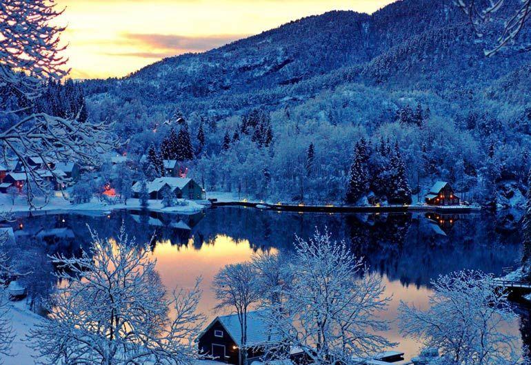 Финляндия озеро