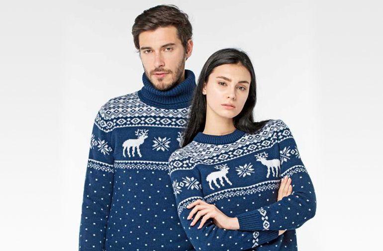 светри з оленями