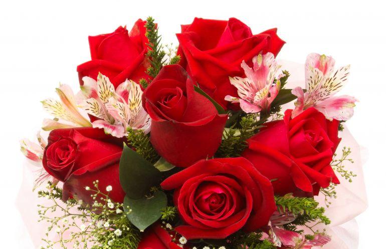 Записки в букет цветов девушке