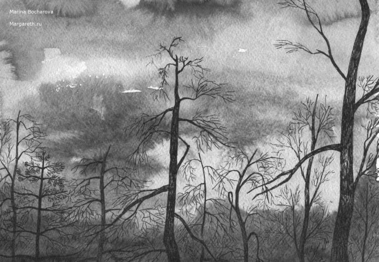 картины современного художника Марины Бочаровой