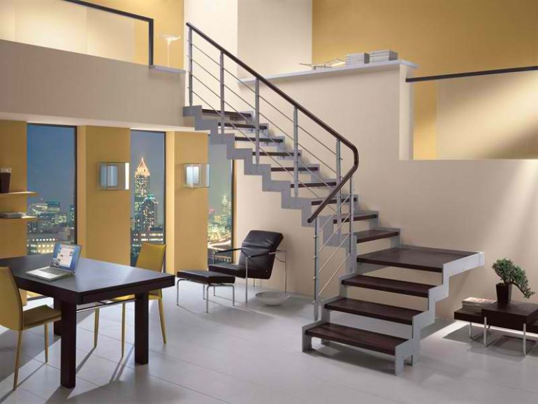 Лестница - ступени интерьер