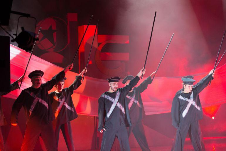 Городской мюзикл «Маяковский» в Театре Луны. Любимые женщины революционера Маяковского. Лучкова Анастасия