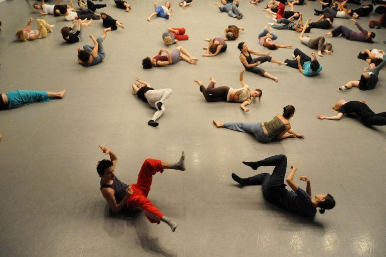 «Гагадим» - уроки движения Gaga в Музее Эрец-Исраэль (MUSA)