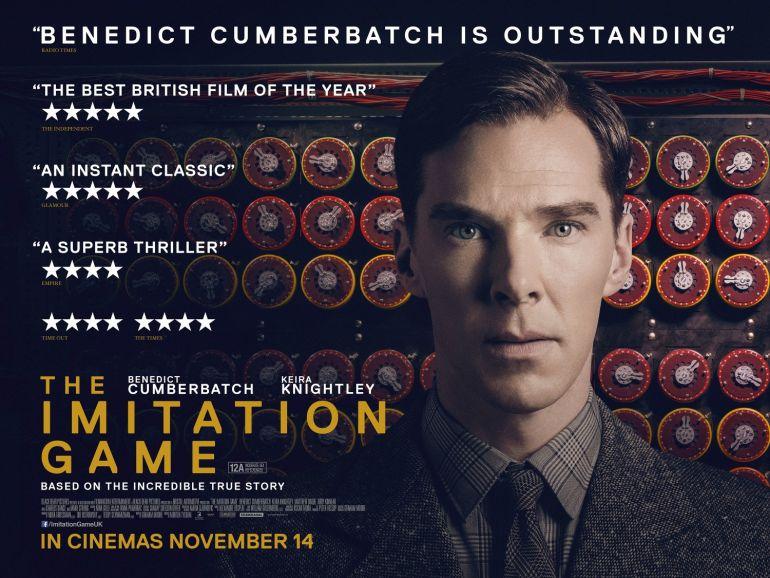 Игра в имитацию (2014) постер