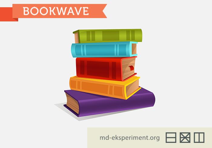 Книжная волна от молодежного движения Эксперимент