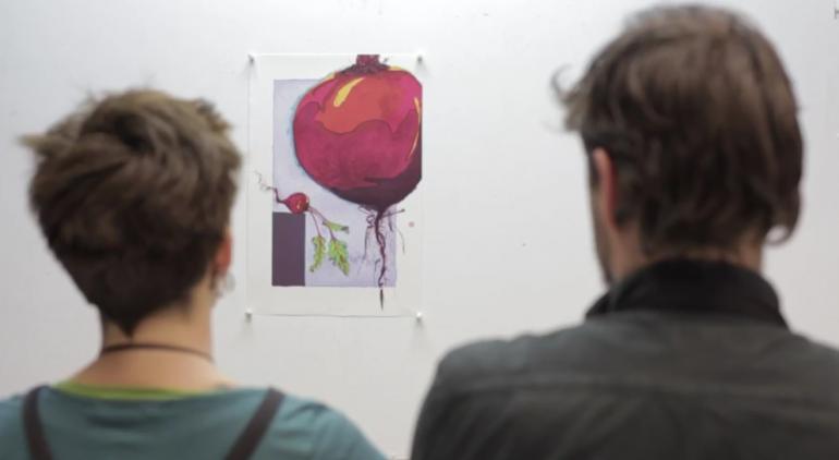 Литография. Завораживающее видео необычного искусства