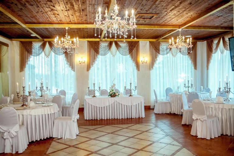 Банкетный зал. Зал для свадьбы