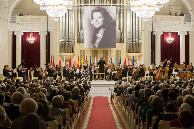 Конкурс молодых оперных певцов  Елены Образцовой. Фестиваль «Приношение Елене Образцовой» 2019