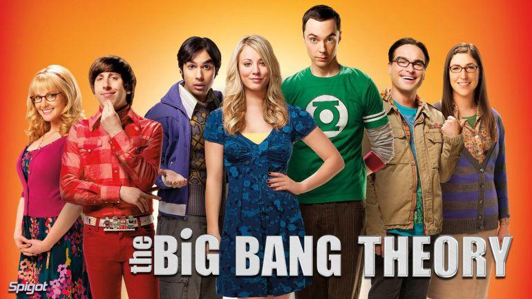 Теория большого взрыва постер