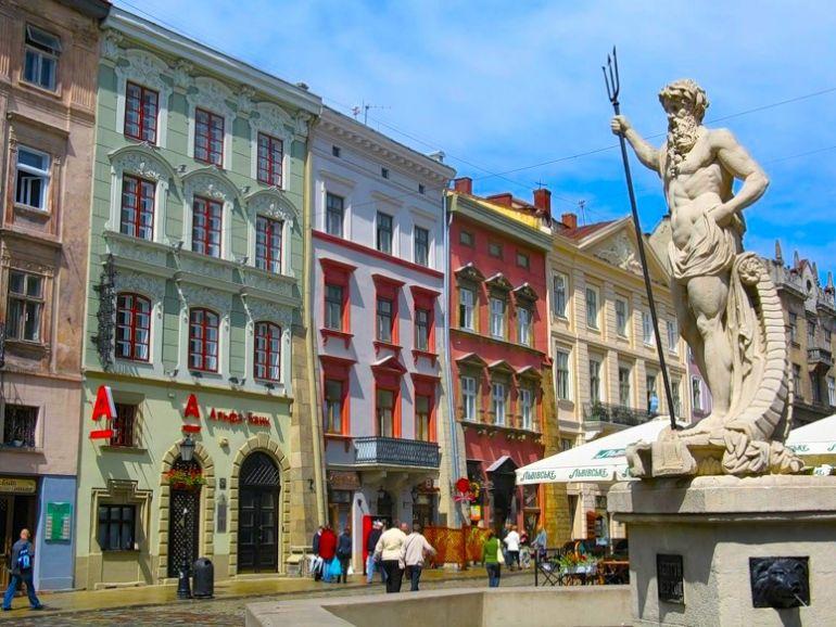 площадь Рынок в Львове