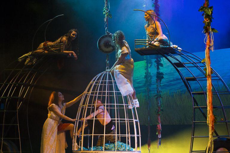Спектакль Сергея Проханова «Матри-Архат» Театр Луны. Москва