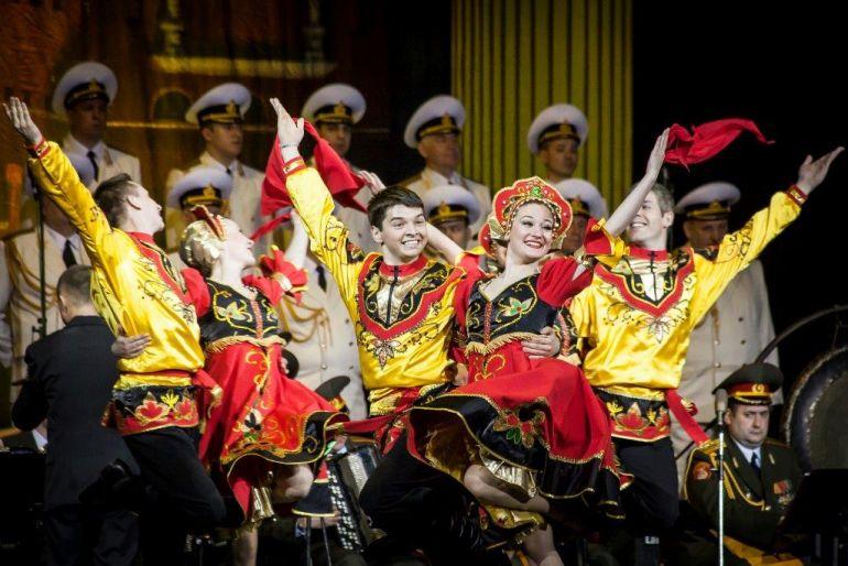 «День России». Концерт на Дворцовой площади